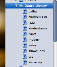 Using iTunes to Make Class Playlists